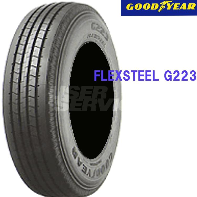 タイヤ グッドイヤー 16インチ 4本 225/75R16 118/116L フレックススチール G223 10B00672 GOODYEAR FLEXSTEEL G223