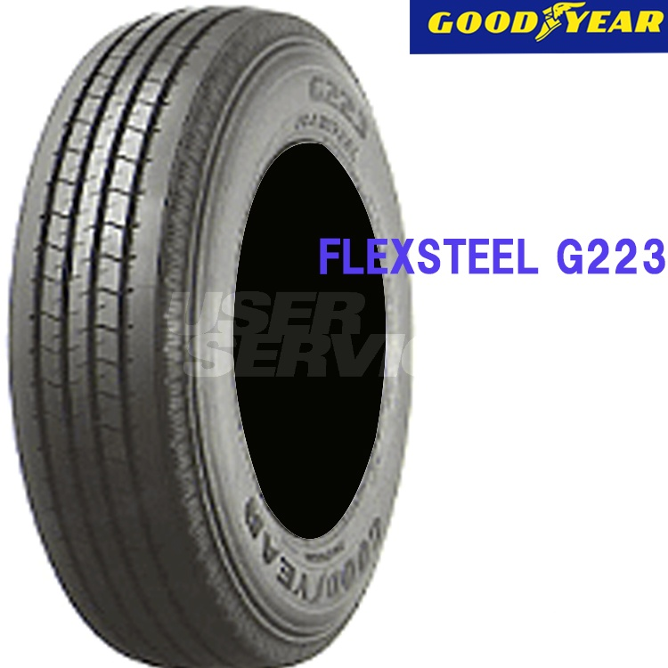 タイヤ グッドイヤー 16インチ 4本 205/85R16 117/115L フレックススチール G223 10B00620 GOODYEAR FLEXSTEEL G223
