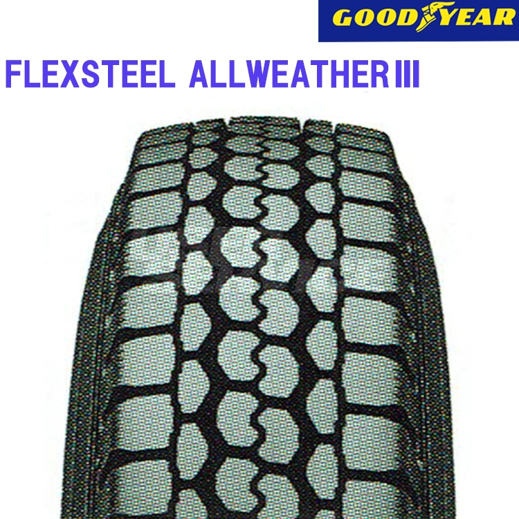 タイヤ グッドイヤー 16インチ 2本 6.5/R16 10PR フレックススチール オールウェザー 10B05300 GOODYEAR FLEXSTEEL ALLWEATHER