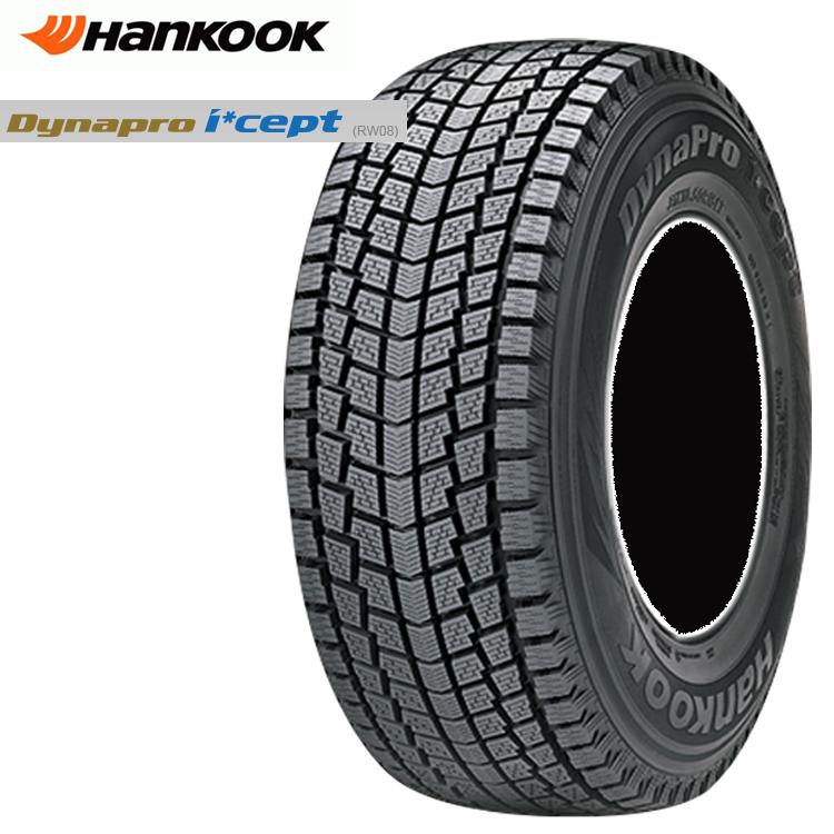 18インチ 4本 1台分 255/60R18 T 冬 スタッドレスタイヤ ハンコック ダイナプロアイセプトiZ2A 4WD SUVスタットレスタイヤ HANKOOK Dynapro i cept iZ2A RW08