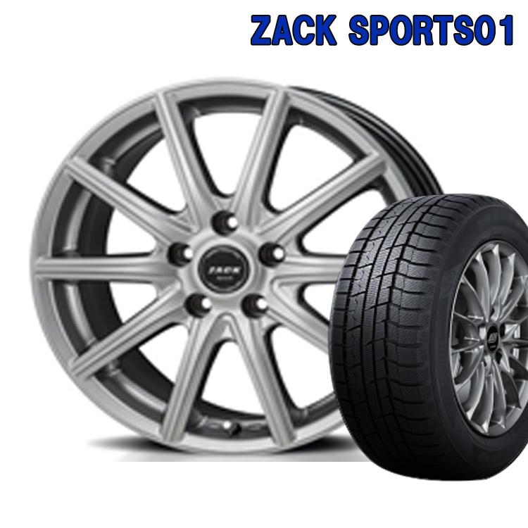 超人気の ZACK SPORTS01 スタッドレスタイヤ ホイールセット 4本 16インチ 4H100 5.0J+45 ジャパン三陽 BS ブリヂストン ブリザック VRX2 175/60R16 175 60 16, 大和高田市 8c21fca4