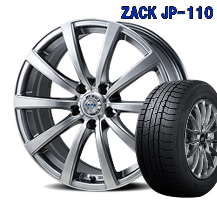 ダンロップ 165/60R15 165 60 15 ウィンターマックス02 スタッドレスタイヤ ホイールセット 4本 1台分セット ザック JP110 15インチ 4H100 4.5J+43 ZACK JP 110 ジャパン三陽