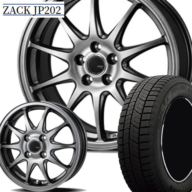 16インチ TOYO オブサーブ GIZ2 215/60R16 215 60 16 スタッドレスタイヤ ホイールセット 4本 1台分セット 5H114.3 6.5J+38 ジャパン三陽 ZACK JP-202