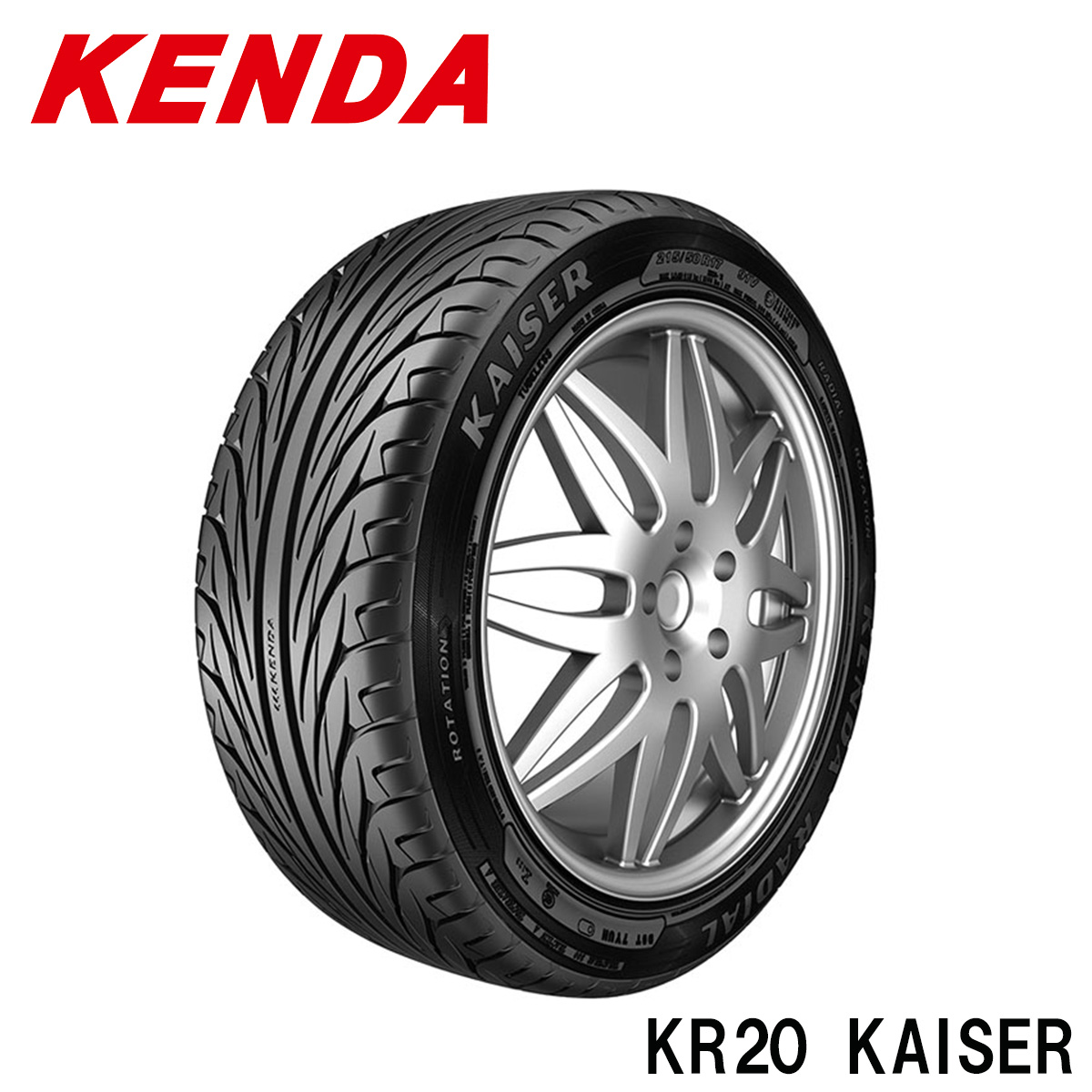 KENDA ケンダ サマータイヤ 4本 セット 19インチ 225/35R19 カイザー KAISER KR20