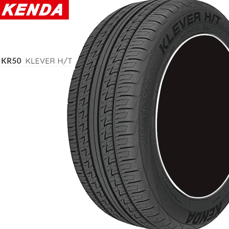 18インチ P235/55R18 100H 4本 低燃費 SUV用 サマータイヤ ケンダ クレバー KENDA KR50 KLEVER H/T 個人宅追加金有 要在庫確認