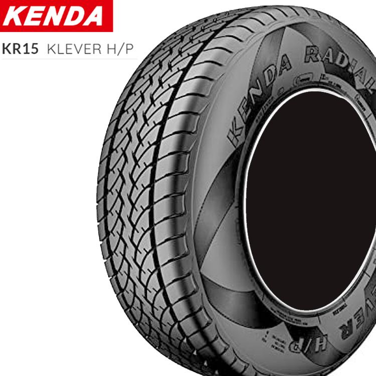 15インチ P215/70R15 98S 1本 新品 SUV用 オールシーズンタイヤ ケンダ クレバー KENDA KR15 KLEVER H/P 個人宅追加金有 要在庫確認