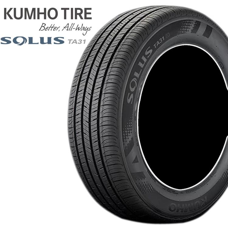 15インチ 165/60R15 77H コンフォートタイヤ クムホ ソウルス TA31 4本 1台分セット KUMHO SOLUS TA31
