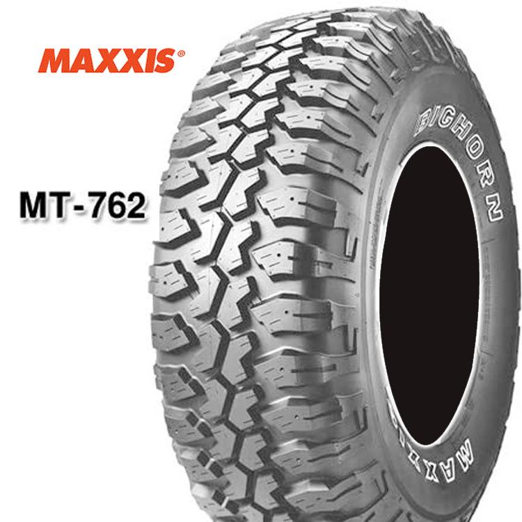 16インチ LT285/75R16 8PR 4本 アウトラインホワイトレター マッドテレーン マキシス ビックホーン MAXXIS MT-762 BIGHORN 個人宅追加金有 要在庫確認
