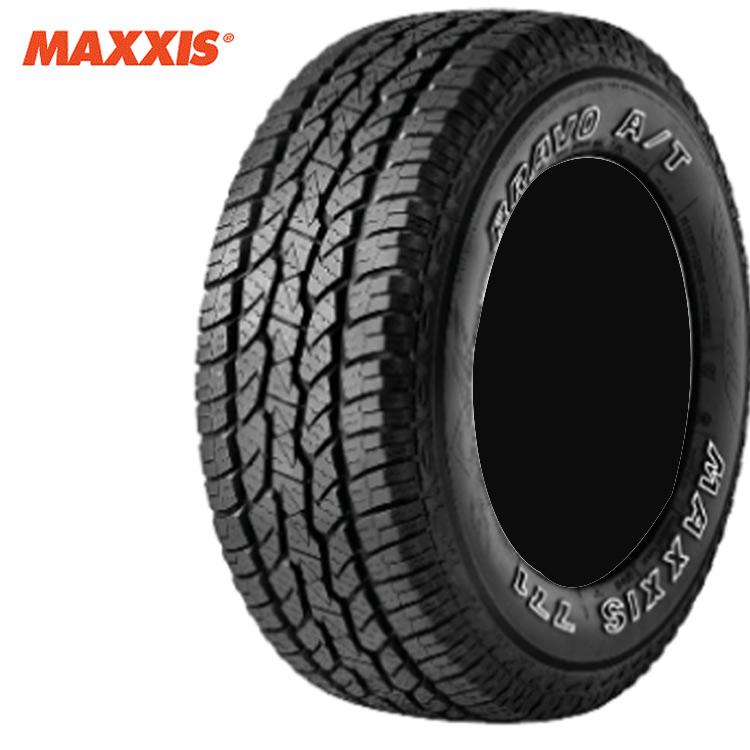 18インチ 255/60R18 112H XL 4本 ブラックサイドウォール 4WD オールテレーン マキシス ブラボーシリーズ MAXXIS AT-771 BRAVO 個人宅追加金有 要在庫確認