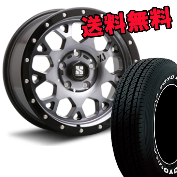 ハイエース系用 16インチ TOYO H20 4本 215/65R16 109R/ 215 65 16 109R タイヤ ホイールセット XTREME-J XJ04 6H139.7 6.5J+38 MLJ