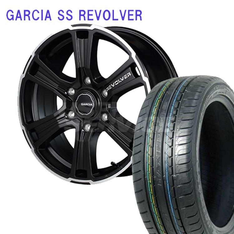 ハイエース200用 17インチ 特選輸入タイヤ 4本 215/60R17 215 60 17 タイヤ ホイール セット GARCIA SS REVOLVER 6H139.7 6.5J+38 MID