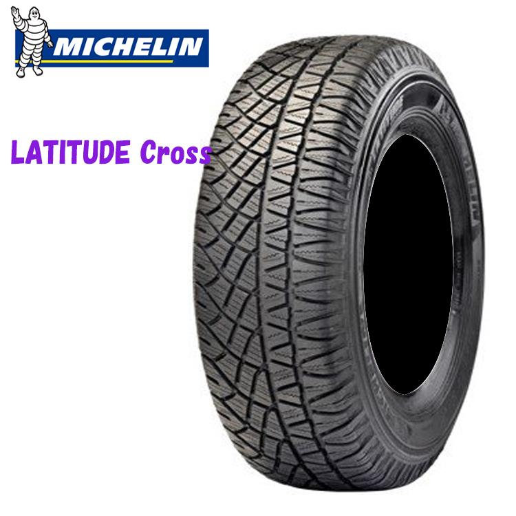18インチ 255/55R18 109H XL 2本 サマータイヤ ミシュラン ラティチュードクロス チューブレスタイプ MICHELIN LATITUDE cross 個人宅追加金有