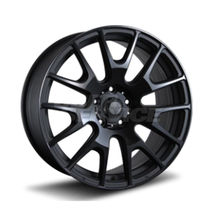 IGNITE XTRACK ホイール 4 本 18インチ 7.5J 48 5H100 5穴 グロスブラック マットブラック MLJ イグナイト エクストラック 売れ筋商品 運動会 ご挨拶 謝礼