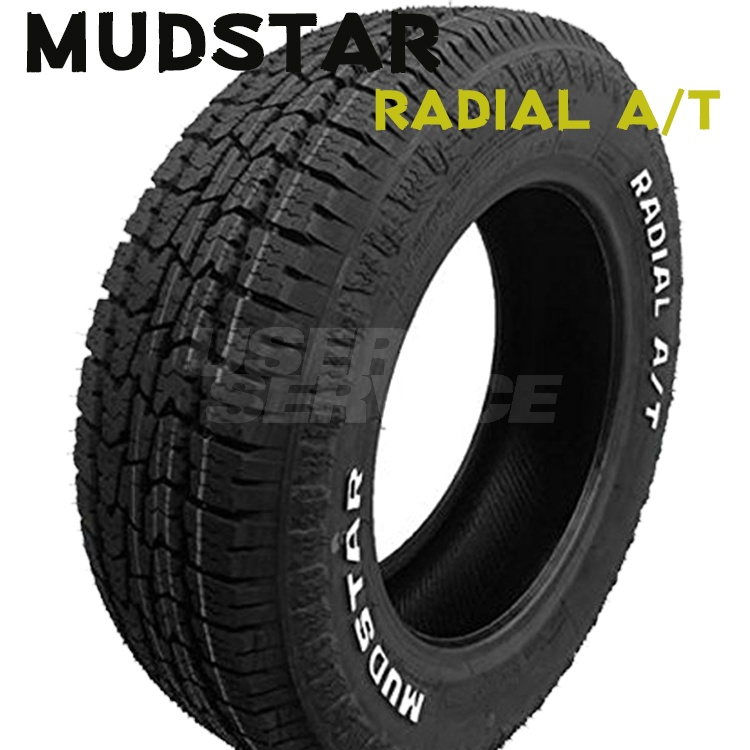 215/65R16 109/107L 16インチ マッドスター ラジアルAT 1本 夏 サマータイヤ ホワイトレター MUDSTAR RADIAL A/T 個人宅発送追金有