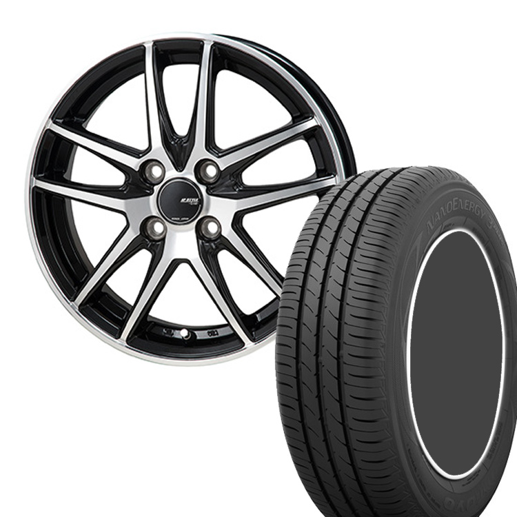 195/60R16 195 60 16 ナノエナジー3プラス 3+ TOYO トーヨー タイヤ ホイール セット モンツァジャパン JP スタイル グリッド 4本 16インチ 5H114.3 6.5J JP STYLE GRID