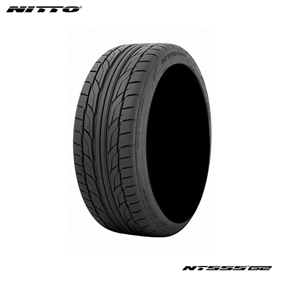 NITTO ニットー 国内メーカー サマータイヤ 1本 17インチ 245/45R17 NT555 G2