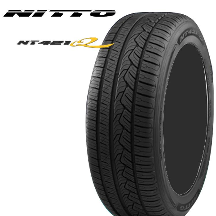 20インチ 255/45R20 105W 2本 SUV ラグジュアリー 低燃費 タイヤ XL ニットー NITTO NT421Q 個人宅追加金有