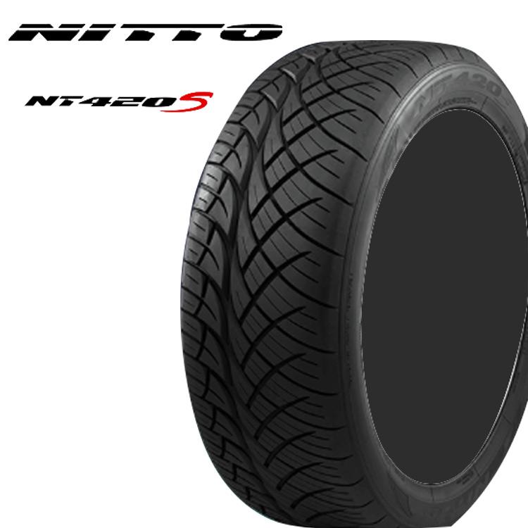 22インチ 265/35R22 102W 4本 SUVサマータイヤ XL ニットー NITTO NT420S 個人宅追加金有