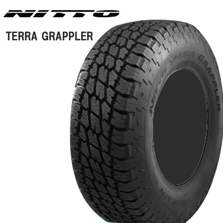 17インチ P245/65R17 105T 4本 テラグラップラー オールテレーンタイヤ ニットー NITTO TERRAGRAPPLER 個人宅追加金有