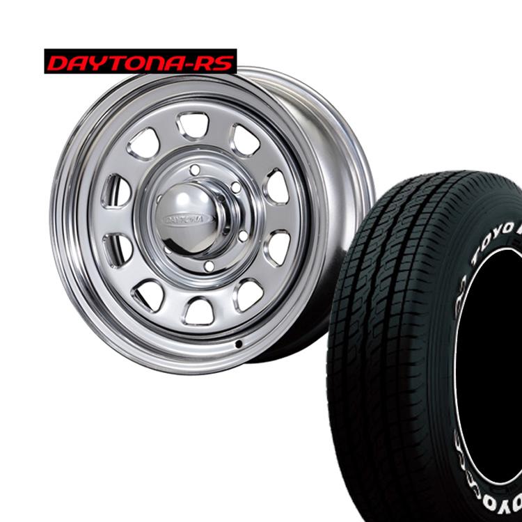 215/65R16 109R/ 215 65 16 109R TOYO H20 ハイエース200用 4本 タイヤ ホイールセット DAYTONA-RS 16インチ 6H139.7 6.5J+38 オリジンラボ納期未定