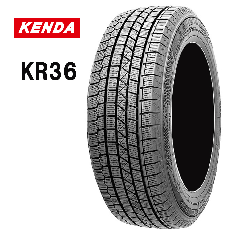 15インチ 165/55R15 75Q 2本 輸入 スタッドレスタイヤ ケンダ 冬用 KENDA KR36