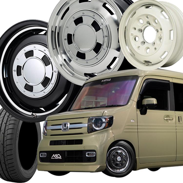 14インチ トランパスLuK 4本 1台分セット 155/65R14 155 65 14 ガルシアシスコ 4H100 4.5J+45 K-CAR エコタイヤ ホイールセット TOYO マルカ