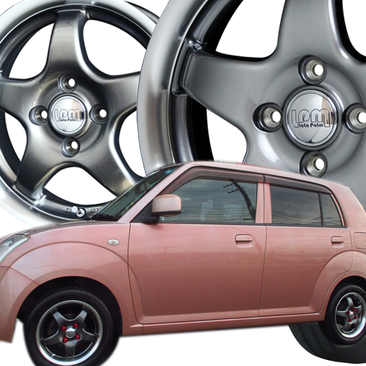アンタレス インジェンスA1 K-CAR サマータイヤ ホイールセット 4本 1台分セット 格安 14インチ 65R14 誕生日プレゼント ララパーム 155 14 スター 4.5J+45 65 4H100