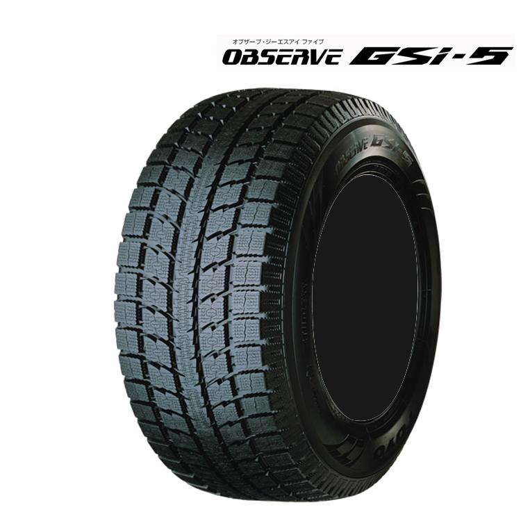 18インチ 265/60R18 4本 スタッドレス タイヤ トーヨー タイヤ オブサーブ GSi-5 TOYO TIRES OBSERVE GSi5