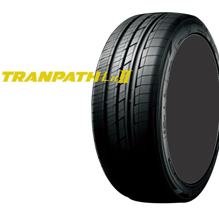 17インチ 215/60R17 96V トランパスLu2 TOYO 4本 低燃費 夏 サマータイヤ トーヨー TRANPATH Lull