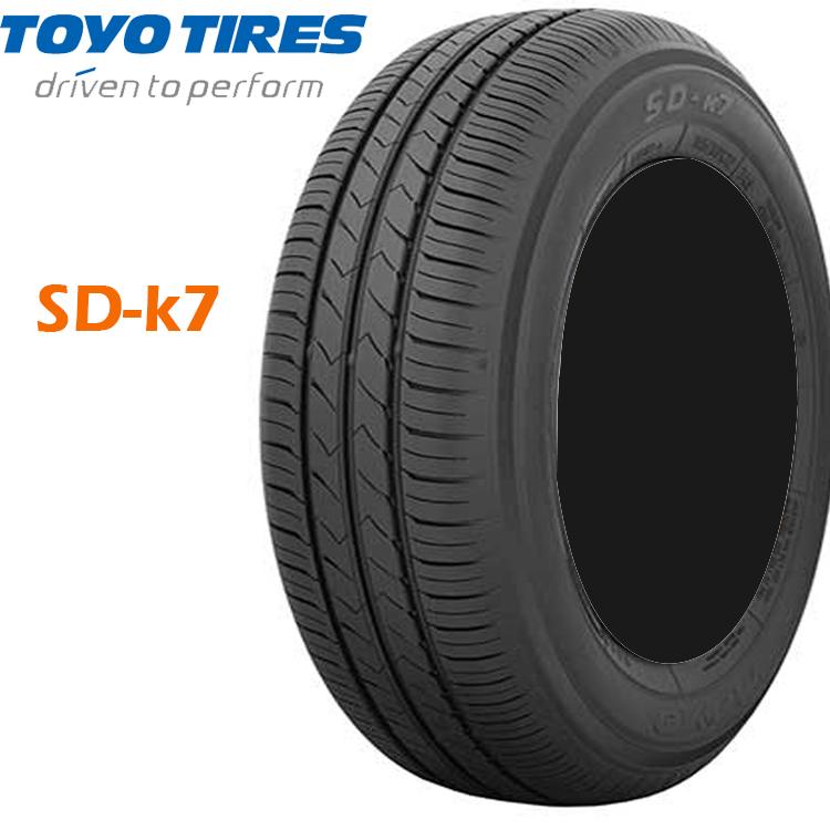 13インチ 165/70R13 79S SD-k7 TOYO 4本 夏 サマータイヤ トーヨー SDK7 欠品中 納期未定