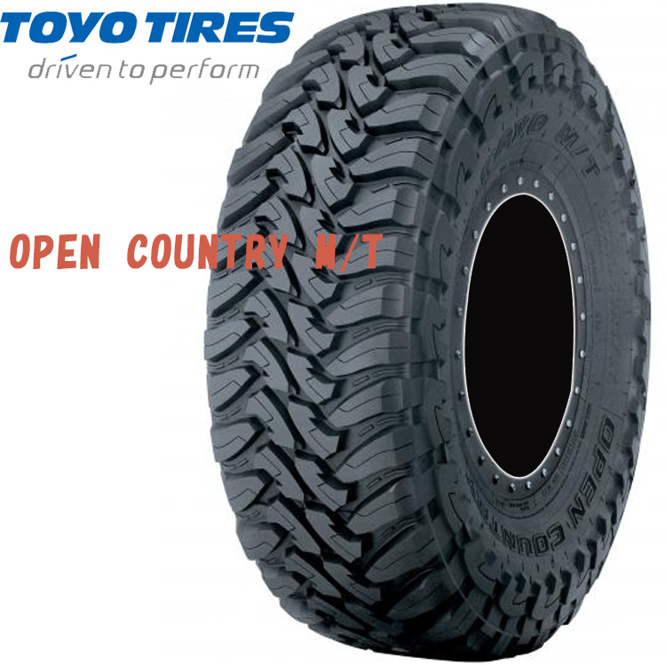 17インチ 265/70R17 121P 4本 1台分 夏 オフロードタイヤ トーヨー オープンカントリーMT TOYO OPEN COUNTRY M/T