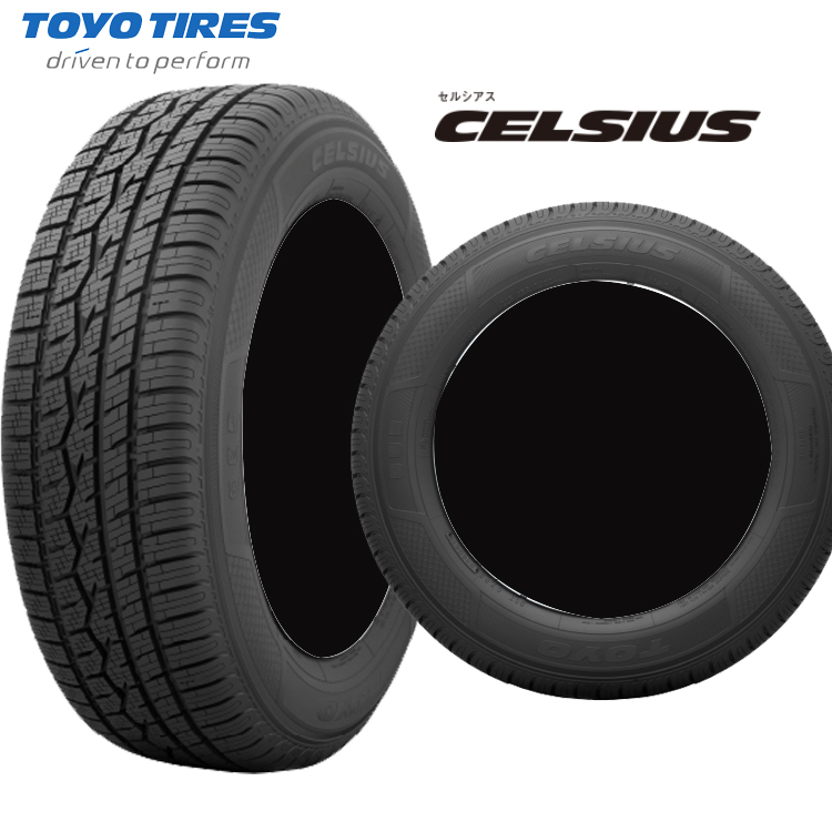 17インチ 215/60R17 96V 2本 オールシーズンタイヤ トーヨー セルシアス TOYO CELSIUS