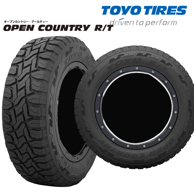16インチ 235/70R16 106Q 4本 1台分 夏 サマータイヤ ラギッドテレイン トーヨー オープンカントリーRT TOYO OPEN COUNTRY R/T