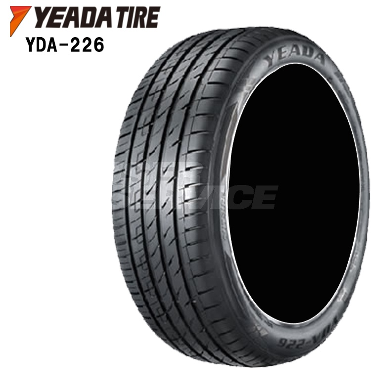 19インチ 4本 1台分セット 225/35ZR19 88Y XL 夏 サマー タイヤ YEADA TIRE YDA-226 225/35ZR19 225 35 19