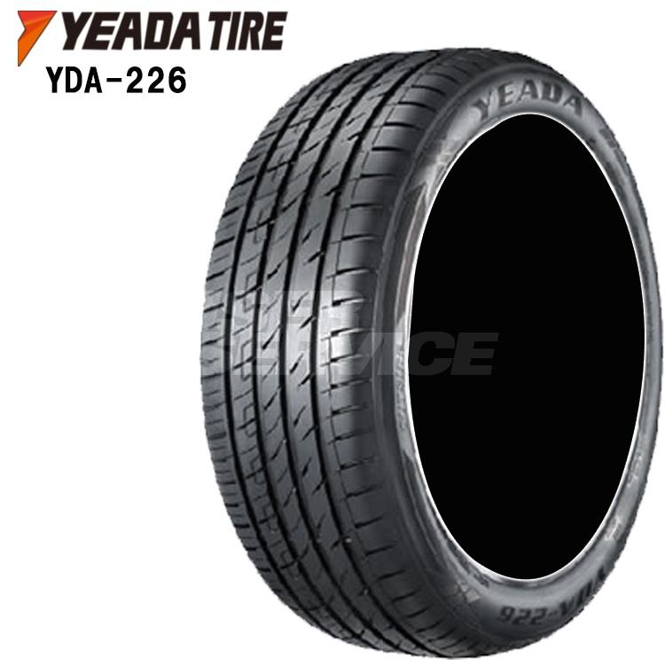 17インチ 4本 1台分セット 215/45ZR17 91W XL 夏 サマー タイヤ YEADA TIRE YDA-226 215/45ZR17 215 45 17