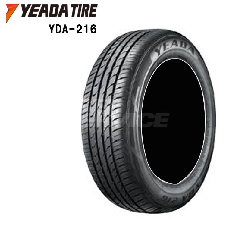 16インチ 4本 1台分セット 195/55R16 87V 夏 サマー タイヤ YEADA TIRE YDA-216