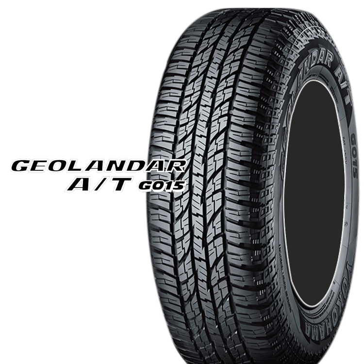 17インチ LT285/70R17 121/118S SUV クロスオーバー用 タイヤ オールテレーン 4本 ヨコハマ ジオランダーAT G015 YOKOHAMA GEOLANDAR A/T G015