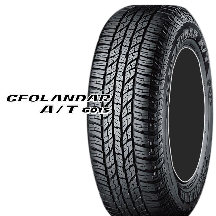 15インチ 225/80R15 105S SUV クロスオーバー用 タイヤ オールテレーン 4本 ヨコハマ ジオランダーAT G015 YOKOHAMA GEOLANDAR A/T G015