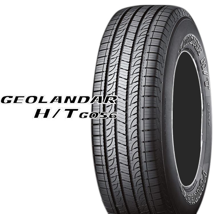 SUV クロスオーバー用 タイヤ ヨコハマ 18インチ 4本 285/60R18 116H ジオランダーHT G056 YOKOHAMA GEOLANDAR H/T G056