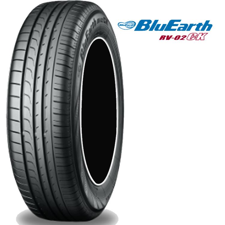 14インチ 185/70R14 88S 2本 夏 サマー 低燃費タイヤ ヨコハマ ブルーアース RV-02CK チューブレス YOKOHAMA BluEarth RV-02CK