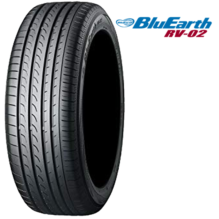 17インチ 225/60R17 99H 4本 夏 サマー 低燃費タイヤ ヨコハマ ブルーアース チューブレス YOKOHAMA BluEarth RV-02