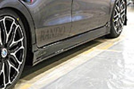 乱人 ムーヴカスタム LA100S サイドステップ 未塗装 RANDO RANDO Style