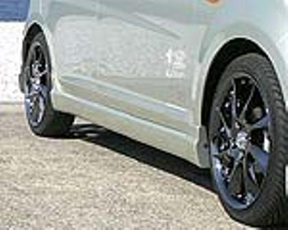 乱人 ムーヴ L175系 前期 サイドステップ 未塗装 RANDO RANDO Style