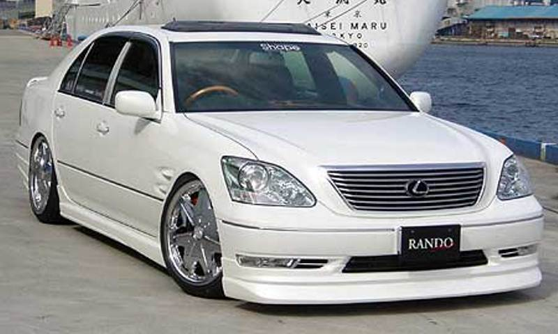 乱人 セルシオ 30系 後期 3点フルキット 未塗装 RANDO RANDO Style