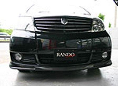 乱人 アルファード 10系 前期 フロントスポイラー 未塗装 RANDO RANDO Style