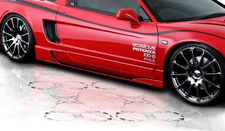 ROWEN ロウェン NSX LA-NA2 タイプR サイドステップ 未塗装 プレミアム PREMIUM1H002J00 トミーカイラ