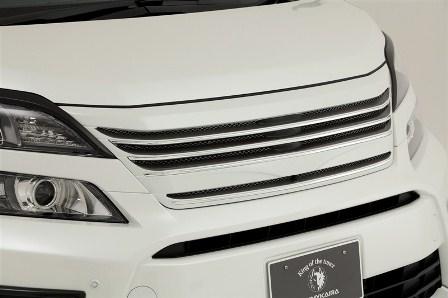 ROWEN ロウェン ヴェルファイア GGH ANH ATH20 後期 Z/ZR フロントグリル 未塗装 プレミアムエディション PREMIUM Edition1T002C20 トミーカイラ