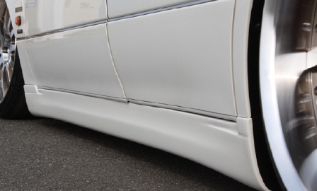 VLENE ブレーン EXISTENCE_PREMIUM エグジスタンスプレミアム サイドステップ 未塗装 アリスト JZS160 161