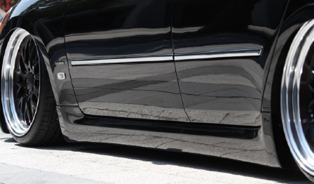 VLENE ブレーン EXISTENCE_PREMIUM エグジスタンスプレミアム サイドステップ 未塗装 フーガ Y50