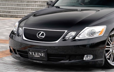 VLENE ブレーン EXISTENCE_PREMIUM エグジスタンスプレミアム フロントバンパースポイラー 未塗装 レクサス